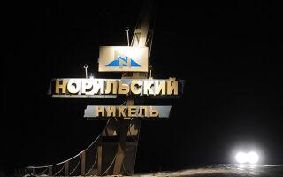 Дивиденды держателям акций «Норникеля» за 2018-2019 год